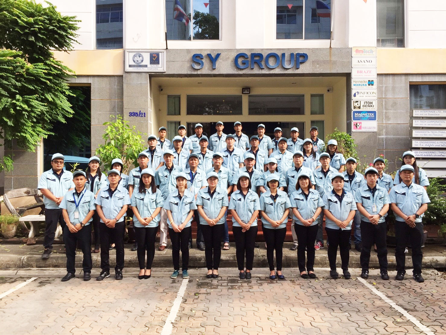 S.Y.GROUP Staff